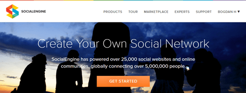 SocialEngine Website