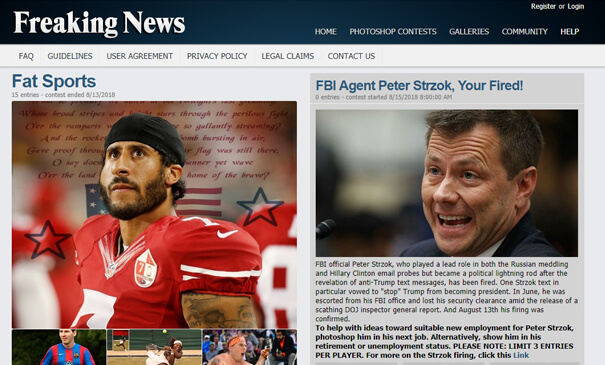 Theme redesigned and developed for FreakingNews.com