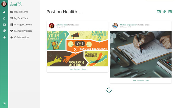 Healith.com - Theme designed & developed for a health network