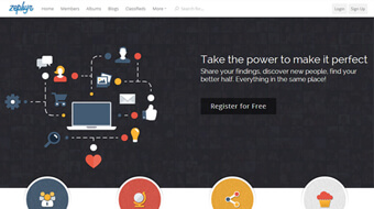 SocialEnginePHP Zephyr Theme